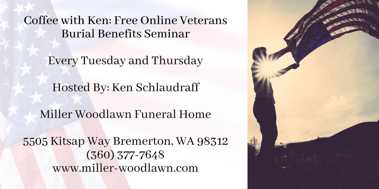 Free Online Veterans Burial Benefits Seminar