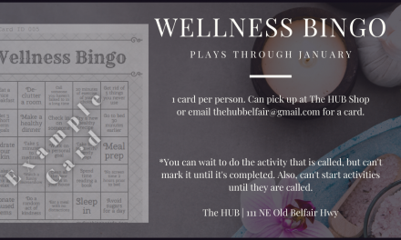 Wellness Bingo